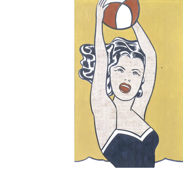 ROY LICHTENSTEIN: GIRL WITH BALL