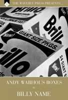 ANDY WARHOL'S BOXES by Billy Name,